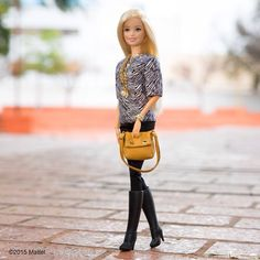 These boots were made for walking!  #barbie #barbiestyle