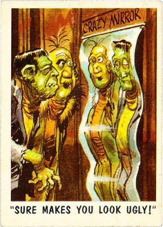 You'll Die Laughing: MAD artist Jack Davis' wonderfully funny horror trading cards Horror Icons, Sci Fi Horror, Horror Comics, Retro Halloween, Halloween Humor, Jack Davis, Ec Comics, Funny Horror, Laughing Jack
