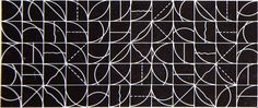 Sol LeWitt - was an American artist regarded as a founder of Minimalism and Conceptual art. He made a kind of modular art, just using basic shapes, a few colors and different types of lines. Sol Lewitt Obras, Wall Drawing, Graphic Design Typography, Graphic Art, Conceptual Art, American Artists, Abstract Pattern, Installation Art, Textures Patterns