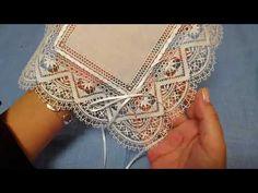 Doily Art, Bobbin Lacemaking, I Cord, Diy Headband, Needle Lace, String Art, Crochet Flowers, Doilies, Hand Stitching