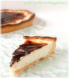 Profumo di Lievito: crostata con crema acidula bruciata