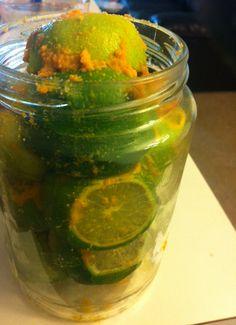 South Yemeni Lemon Pickle ['Ushar] — عُشار