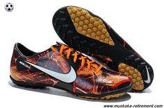 IX TF TROPICAL PACK (Laser Orange/Black/White) Nike Mercurial Vapor