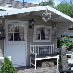 Most recent Free garden shed exterior Concepts Back garden sheds include multiple works by using, including holding house chaos plus back garden maintenance . Garden Shed Diy, Backyard Sheds, Outdoor Sheds, Garden Cottage, Home And Garden, Balcony Garden, Garden Houses, Balcony Ideas, Outdoor Gardens