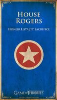 Rogers by ~Lokiable on deviantART  Captain America House Flag a la Game of Thrones