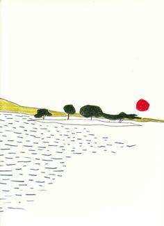 '10「灯台+浮島」 | ダイモンナオ
