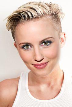 Diana Agron Pixie Cut by on DeviantArt Pixie Cut, Diana, Short Hair Styles, Coconut, Google Search, Sweet, Fashion, Pixie Buzz Cut, Bob Styles