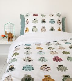 Robot duvet cover | Products | Studio ditte