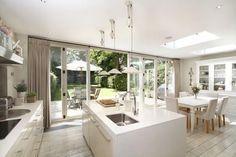 kitchen bi-fold doors