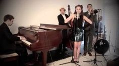 A starkly slick, sassy vintage 40's jazz take on Selena Gomez's 'Come And Get It'