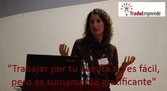 """Ponencias #Traduemprende – Irene Vidal: """"El enfoque empresarial del traductor freelance"""" http://leonhunter.com/blog/?p=3818"""