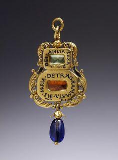 The Tudor Era - Amulet pendant, made in England, 1540-60