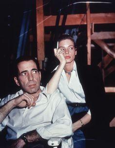 Humphrey Bogart et Lauren Bacall