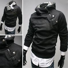 Image result for side zipper hoodie