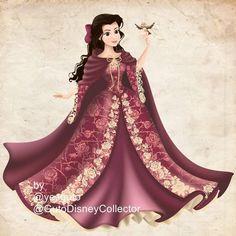 My Belle digital draw #draw #desenho #disney #princess #coreldraw #disneylover #brancadeneve #belle #disneyart #beautyandthebeast
