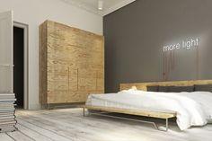 stare deski podłogowe wymagały renowacji odczyszczenia - w nowej odsłonie wybrano dla nich delikatnie przetartą fakturę i kolor biały