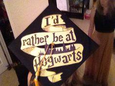 Love love love my Harry potter graduation cap!!!!!