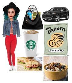 """""""Going to Panera Bread wit' ma' gurl😝😁💚💙💛💜"""" by taliar992 ❤ liked on Polyvore featuring Gogo Philip, Levi's, Lipsy and Michael Kors"""