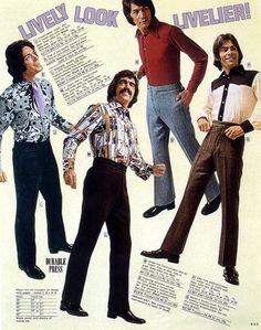 70's men fashion