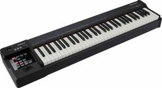 RD-64: Digital Piano Teknologi piano SuperNATURAL® memberikan nada-nada piano akustik yang ultra ekspresif, sedangkan 64-note Ivory Feel-G keyboard menciptakan nuansa bermain yang sesungguhnya. T