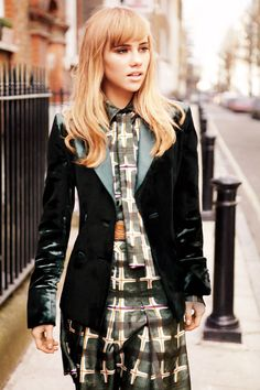 Suki Waterhouse is an It Brit Icon in the Making