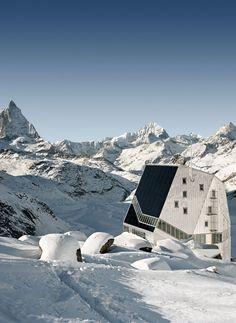 Architekturführer Schweiz: Neue Monte Rosa Hütte ©ETH-Studio Monte Rosa