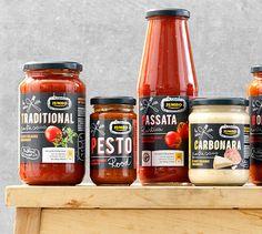 Jumbo pasta sauces
