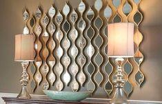 Charming Dining Room Wall Decoration Design - Artistic Home Decor Decor, Contemporary Interior Design, Dining Room Wall Decor, Charming Dining Room, Luxury Mirrors, Contemporary Decor, Home Decor, Mirror Decor, Living Decor