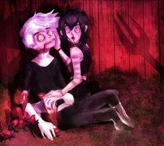 An Evil Spirit And His Dark Mistress by MiroirTwin
