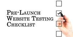 42 ESSENTIAL CHECKS BEFORE LAUNCHING YOUR WEBSITE
