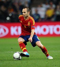 Iniesta Espagne