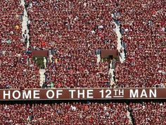 Kyle Field - The 12th Man (The A student section)