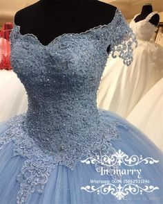 Light Blue Lace Sweet 16 Quinceanera Dresses 2017 Ball Gown Off Shoulder Pearls Puffy Tulle Masquerade Vestidos 15 Anos Birthday Prom Gowns Off Shoulder Quinceanera Dresses 2017 Quinceanera Dresses Crystal Prom Dresses Online with $238.86/Piece on In_marry's Store | DHgate.com