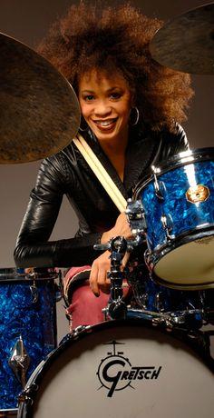 The amazing drummer Cindy Blackman