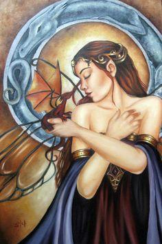 selena fenech art | selina fenech fan art by rasguitos fan art traditional art paintings ...