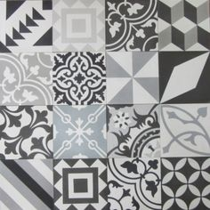 Encaustic Cement Tiles for Floors & Walls Size: All tiles are 20cm x 20cmx 12mm Sold in boxes of 16 tiles 25 tiles make up 1m² Please note that the patchwork designs are a selection of random tiles For more information on the Encaustic Tiles please go to ABOUT THE TILES