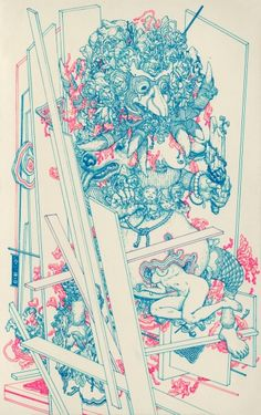 "James Jean - ""Groud""."
