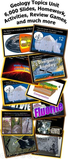 A six part now 6,000+ slide PowerPoint becomes the roadmap for an amazing and interactive science experience, complete with homework package, hands-on activities with directions built into the slideshow, built-in quizzes, answer keys, units notes, video links, rubrics, flashcards, review games and much more.