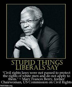 Immoral Liberals | Stupid Things Liberals Say - politics