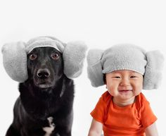 Lifestyle photographer Grace Chon recently turned the camera on her 10-month-old baby Jasper and their 7-year-old rescue dog Zoey, putting them side-by-side in the some of the most adorable portraits ever.