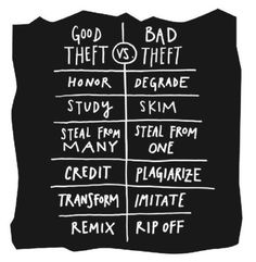 Good Theft vs. Bad Theft: Curation vs. Republishing Visualized | Content Curation World | Robin Good via Scoop.it -- this is listed in regard to content curation, but it has equal merit when contemplating what and how to pin on Pinterest