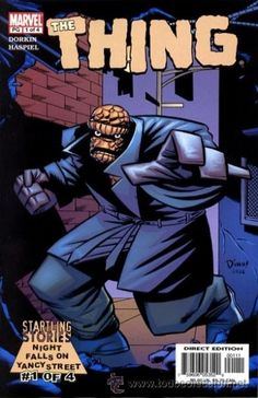 STARTLING STORIES: THE THING – NIGHT FALLS ON YANCY STREET, SERIE COMPLETA DE 4 NÚMS, MARVEL, 2.003