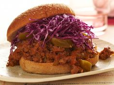 Spicy Vegan Sloppy Joes #myplate #grains #veggies