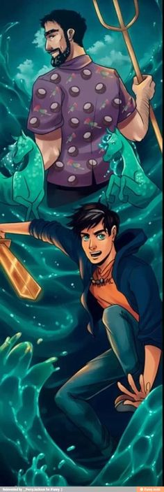 Lol Percy Jackson and Poseidon