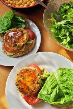 #Vegan Butter Bean Kale Burger