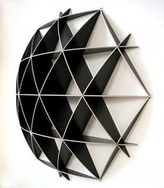 Small COMB Shelving Sphere. Crystal Maze-tastic!: