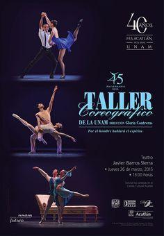 Danza: Taller Coreográfico de la UNAM. Jueves 26 de marzo, 13:00 horas. Solicita tus cortesías en el Centro Cultural Acatlán. Teatro Javier Barros Sierra