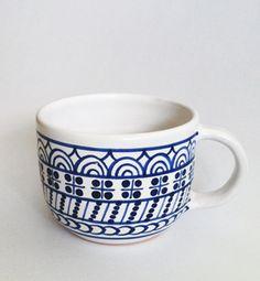 coffee mug - modranska (blue)