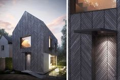 Architecture for London | Architect designed new build timber house for a woodland site in Essex