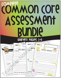 Teacher's Notebook CC Quarterly Assesments $$